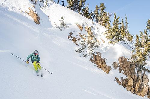 Skiing in Southern Idaho